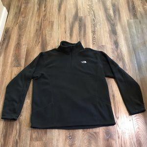 The North Face Gray Fleece Zip Pullover XL